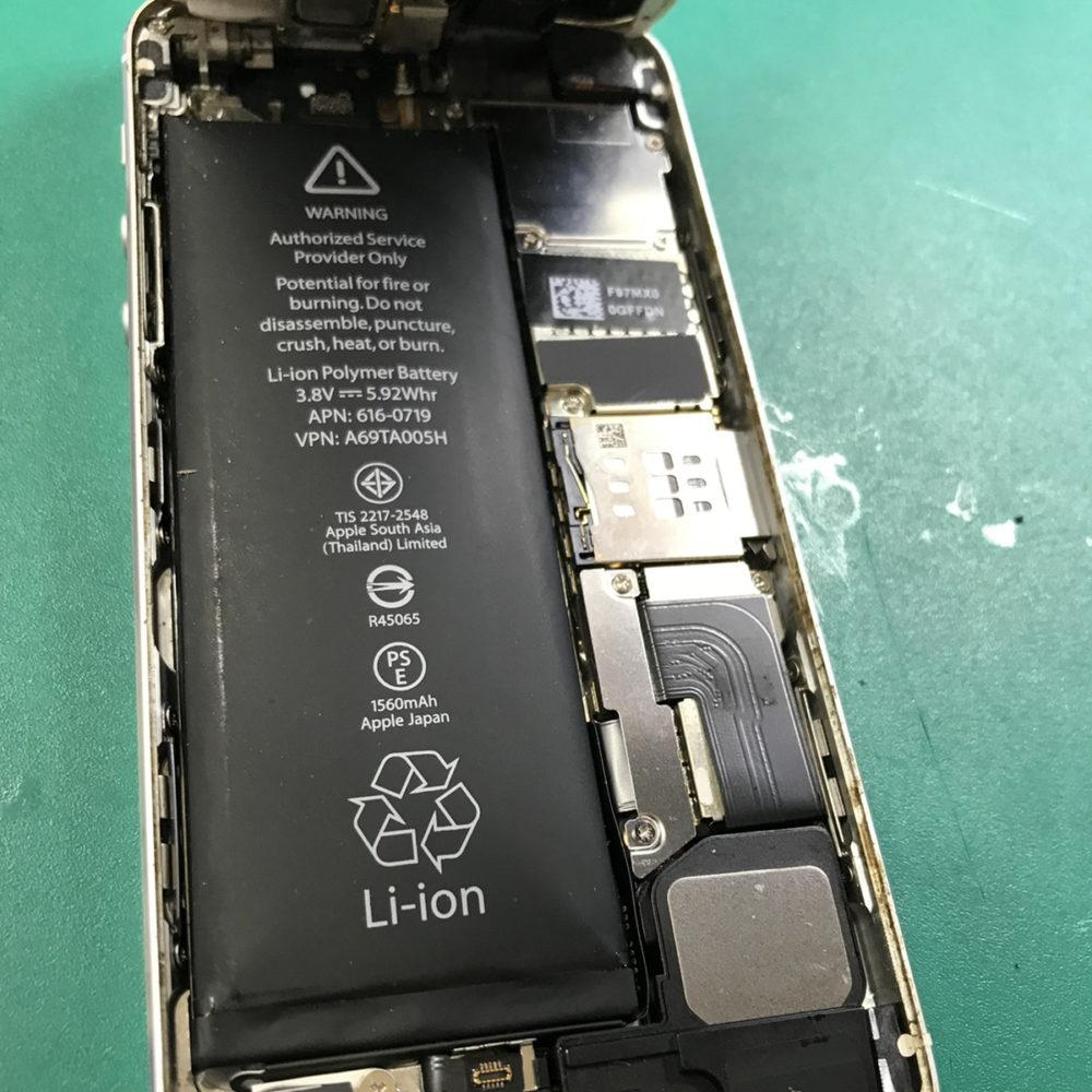 バッテリー膨張