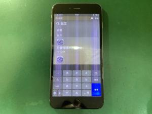 iPhone6SP 縦線