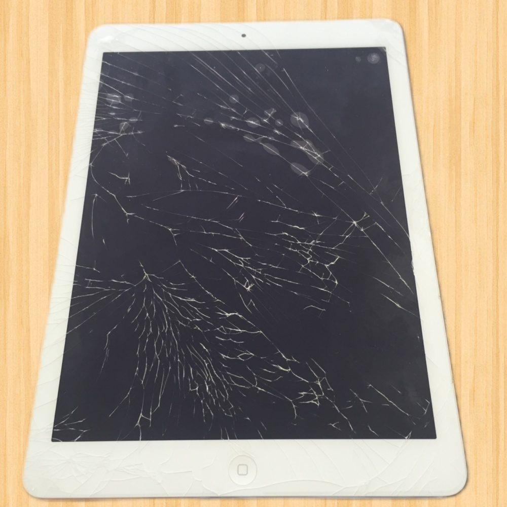 iPad えきしょうまっくら