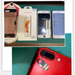 iPhone7p 屏幕+后摄像头玻璃维修