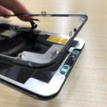 iPhone11ProMax 画面剥離