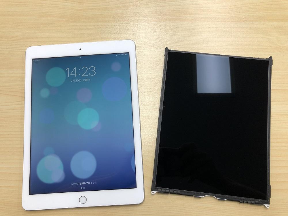 iPad5 液晶交換