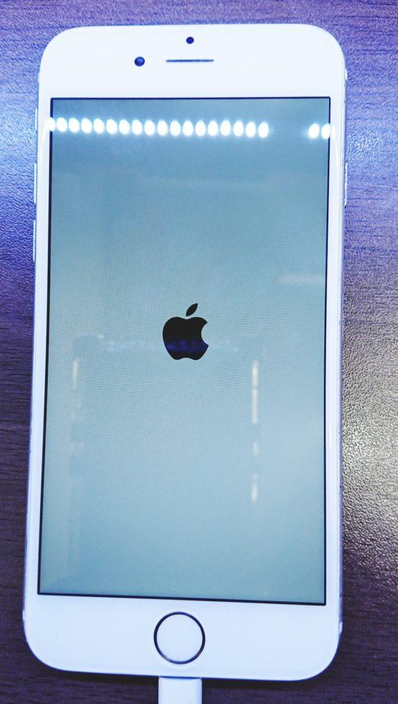 iPhone6画面割れ修理後画像
