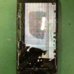 iPhone8 画面損傷