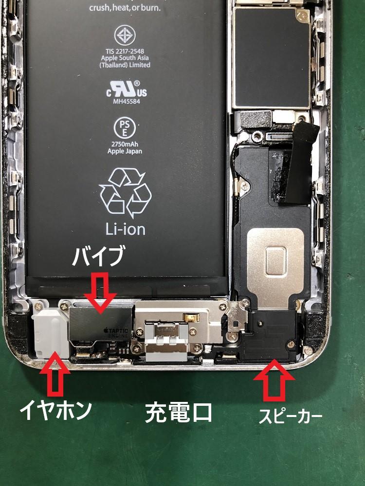 iPhone内部 構造