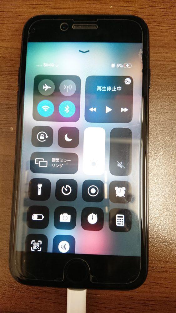 iPhone7ライトニングコネクター交換後