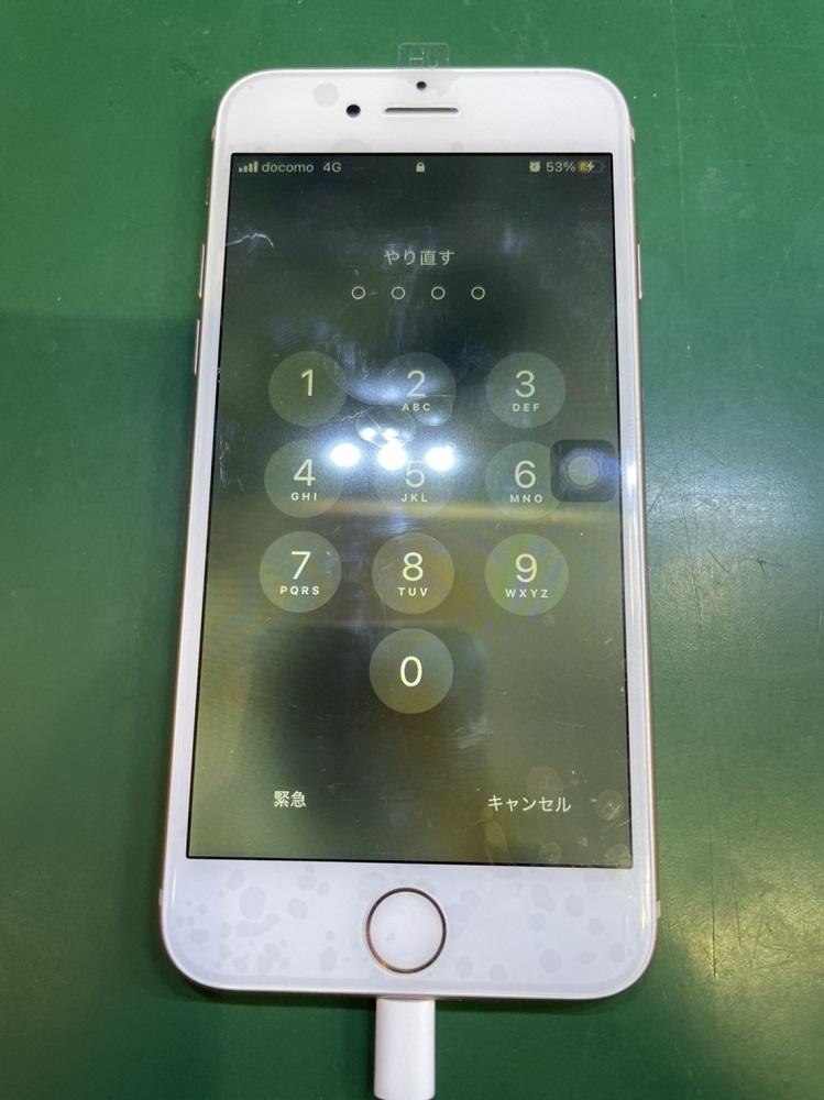 iPhone7画面修理後