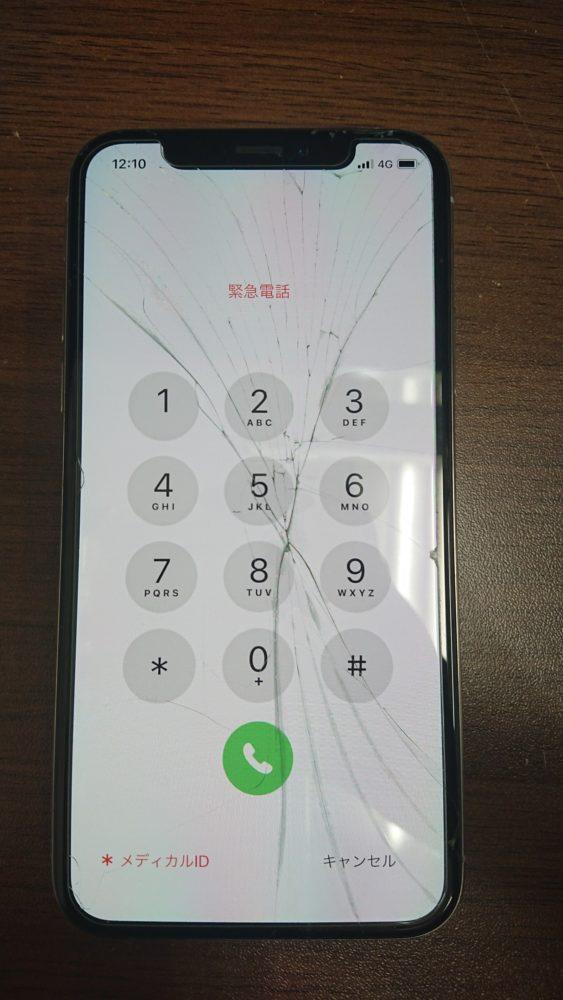 iPhoneXS画面交換修理前